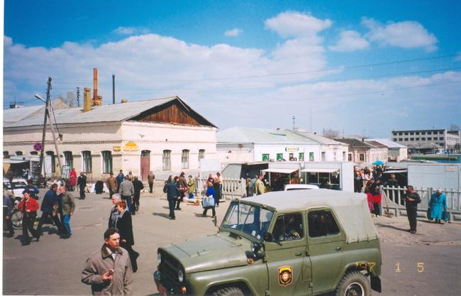 market place of bobruisk belarus bobruisk belarus synagogue old street